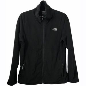 The North Face Black Full ZIP Fleece Jacket- Large